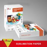 Le papier de sublimation de rouleau de transfert thermique à 100 ml de papier rapide le moins cher