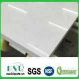 Um brilho natural de pedra de Engenharia de quartzo branca