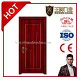 Porte en bois stratifié PVC haute qualité pour bâtiment