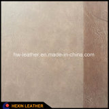 Couro PU sintético polido para sapatos masculinos para mulheres Hx-S1710