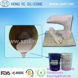 Platina de borracha de silicone líquido de grau médico para Próteses de membros inferiores