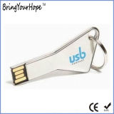 Movimentação chave do flash do USB do triângulo do metal (XH-USB-168)