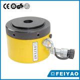100 Ton Clapet de verrouillage à simple effet Cylindre hydraulique Pankcake / Jack mécanique