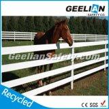 Eco freundliches Vinyl-/Plastik/Pferd Belüftung-Zaun-Panel-/Sicherheits-Garten-Weiß-Plastikzaun