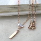 Collana dell'oro delle coperture di radiante dell'acciaio inossidabile dei monili di modo per le donne