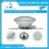 35W blanco cálido, de protección IP68 LED PAR56 de la luz bajo el agua de piscina