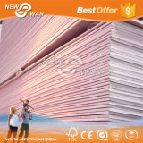 Painel de drywall de gesso rosa resistente ao fogo