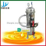 Filtro de óleo diesel de combustível portátil com bomba de óleo pequena