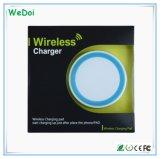 Chargeur sans fil de vente chaud de Qi portatif pour l'iPhone et la Samsung (WY-CH01)