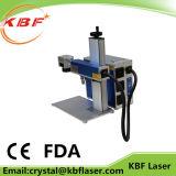 ステンレス鋼のための小さい産業ファイバーレーザーのマーキング機械