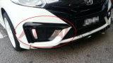 El bastidor de faros de niebla de fibra de carbono para Honda Fit Jazz 2014