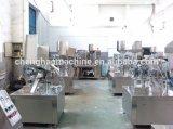 Marque 2016 de Chenghao, cachetage cosmétique automatique de tube et machine de remplissage avec la fonction de codage de datte et en lots, système de alimenter de tube