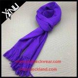 Классические цвета шерсти вязки теплые шарфы с Tassel моды