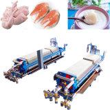 Le poulet, porc, cheval de l'huile d'animaux d'huile raffinée avec des matériaux en acier inoxydable de ligne