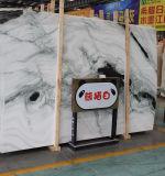 熱い販売の自然な大理石の磨かれた白い大理石の平板、床タイル、プロジェクトのタイル
