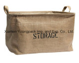 Moda Promocional Custom Printed Kids Extra Large Jute Toy Storage Bags