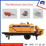 50m3 / H Capacidad de bombeo Bomba de hormigón de remolque diesel (HTB50.10.82RS)