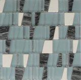 壁のタイルのための2017年の台形の大理石のモザイクかガラスのモザイク