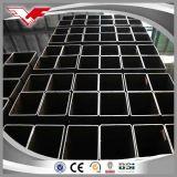 Черная горячекатаная квадратная стальная ранг пробки ASTM A500