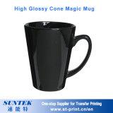 Tasse magique changeante de tasse de couleur en céramique pour la sublimation sans illustration