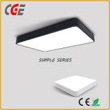Thin cuadradas y redondas 12W 15W 18W luz LED panel LED panel LED lámpara de techo Lámparas