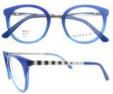 Eyeglasses Handmade способа стекел рамки новой модели Eyewear ацетата круглые
