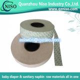 Papel de liberação de matérias-primas higiénicas para fábrica de guardanapos sanitários