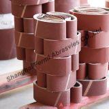 Cinghie abrasive rivestite della sabbia per metallo stridente, legno (VSM & materia prima di 3M)