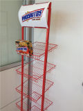 Hot Sale Metal Display Rack pour Biscuits, Candy, Snack