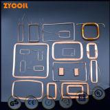 Várias antenas de RFID para bobinas de cartão inteligente