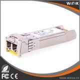 Kosteneffektive Baugruppe 80km SMF Faser-Optiklautsprecherempfänger-kompatible Cisco-CWDM-SFP-10G