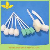 Medizinischer bunter Reinigungs-Schwamm-Wegwerfstock