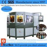 Sap-303 Fünf Farben Servoantrieb Steuerung Kamera Registrierung Automatische Flasche Druckmaschine