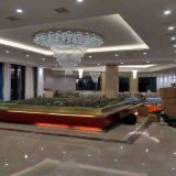 大きいサイズのホテルとの現代ガラス水晶ペンダント灯のプロジェクト