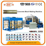 Blocchetto concreto completamente automatico del lastricatore del mattone del cemento che fa macchina nella costruzione
