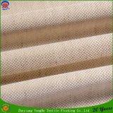 Enduit de tissu de rideau en guichet de textile s'assemblant le tissu imperméable à l'eau de rideau en arrêt total de franc