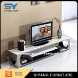 Basamento moderno del metallo TV della mobilia del salone con i cassetti