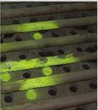 Poudre de pigment photoluminescente pour la fuite du sac filtrant