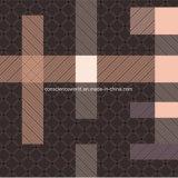 100%Polyester скачками решетка Pigment&Disperse напечатала ткань для комплекта постельных принадлежностей