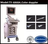 armazenamento 320GB cor Doppler da máquina do ultra-som da tela de 15 polegadas