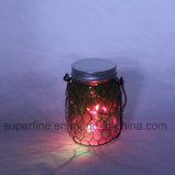 ロマンチックで美しい屋外のハングのホーム党装飾LEDの瓶ライト