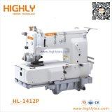 Hl-1412p douze aiguille double lit plat Chainstitch Machine à coudre