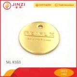 개인화된 주문 로고 유명 브랜드 금속 동전 또는 기장