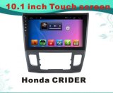 Android DVD-плеер автомобиля навигации системы GPS для экрана емкости Хонда Crider 10.1inch с MP3/MP4/TV/WiFi/Bluetooth/USB