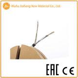 Einzelner Fußboden-elektrisches Heizkabel des Leiter-230V zuhause Lminated