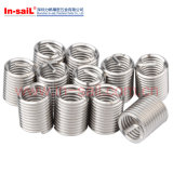 Fixation en acier inoxydable M8 DIN Standarded Wire Thread Inserts