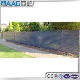 Panneaux en aluminium durables de frontière de sécurité