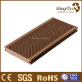 Decking de madeira do composto WPC do material de construção do fabricante de Guangdong para a venda por atacado