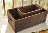 Eco-Friendly Handmade 자연적인 서류상 바구니 (BC-PB1011)