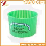 カスタマイズされたロゴの耐熱性シリコーンのティーカップカバー(YB-AB-028)